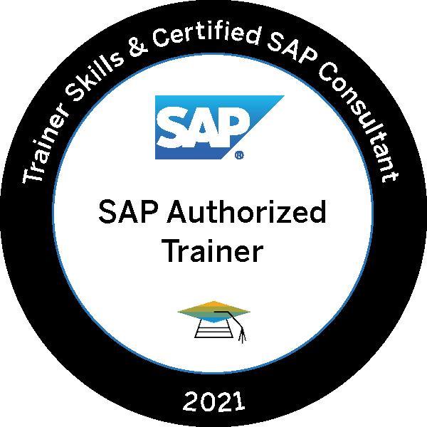 SAP Trainer Zertifikat 2021 Training Kurs Consultant Clouddna beratung Deutschland Österreich und Schweiz WDECPS WDEI1 HOFIO HOUI5 Fiori Cloud platform Plattform Security Trainer